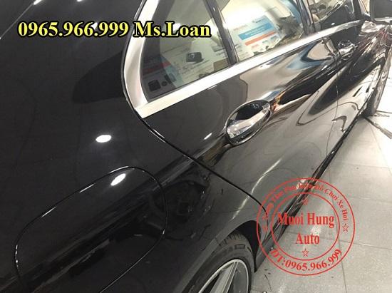 Phủ Nano Cho Xe Mercedes C300 Chuyên Nghiệp 01