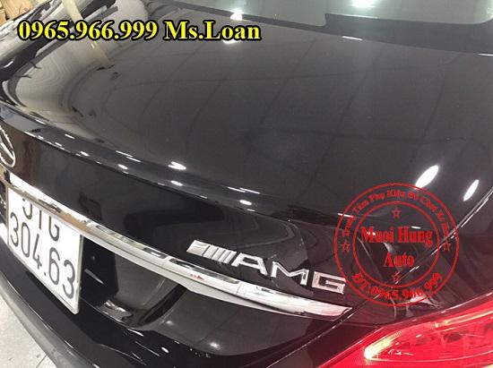 Phủ Nano Cho Xe Mercedes C300 Chuyên Nghiệp 02
