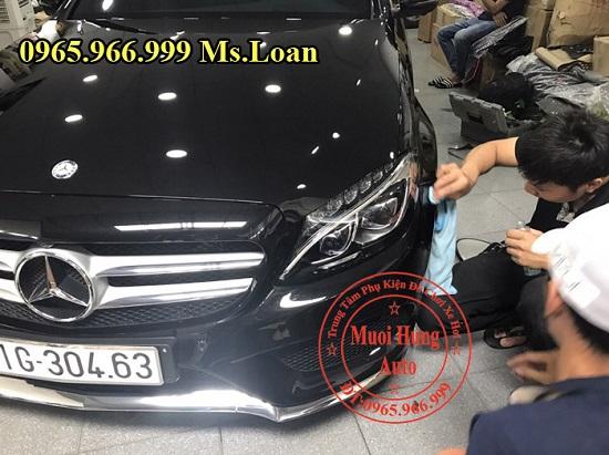 Phủ Nano Cho Xe Mercedes C300 Chuyên Nghiệp 03