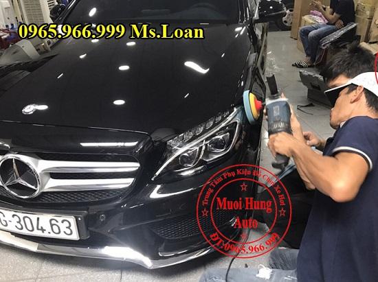 Phủ Nano Cho Xe Mercedes C300 Chuyên Nghiệp 04