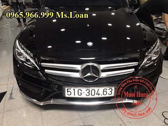 Phủ Nano Cho Xe Mercedes C300 Chuyên Nghiệp 05