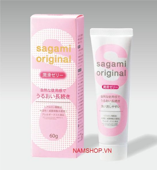 Gel bôi trơn tăng chất nhờn Sagami original 80g
