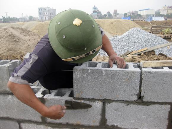 Gạch Block xây tường R190