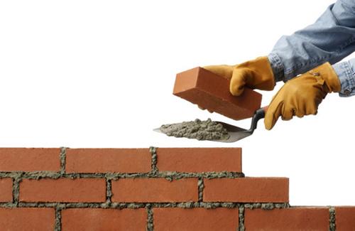 Kỹ thuật xây tường bằng gạch tuynel