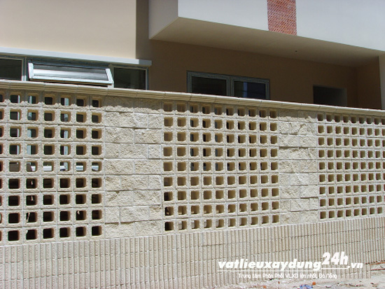 Gạch block xây tường M104