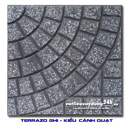Gạch terrazzo - Kiểu Cánh quạt