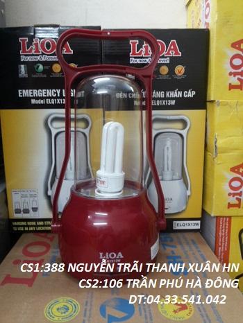 đèn chiếu sáng khẩn cấp lioa 13w mầu đỏ