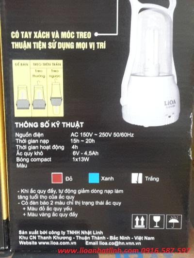 đèn lioa