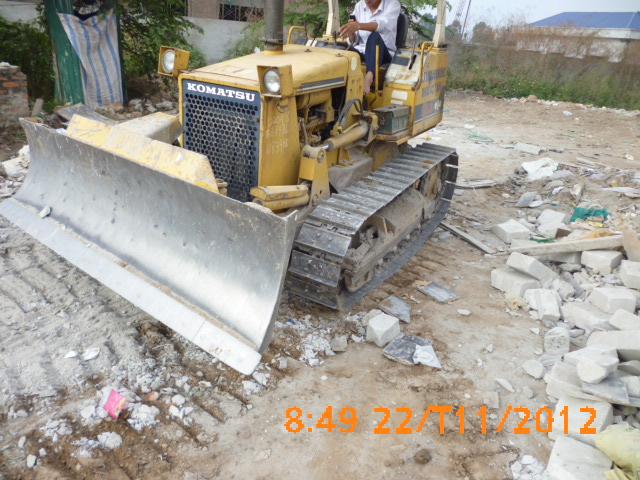 Cho thuê máy ủi D20 giá rẻ tại Hà Nội