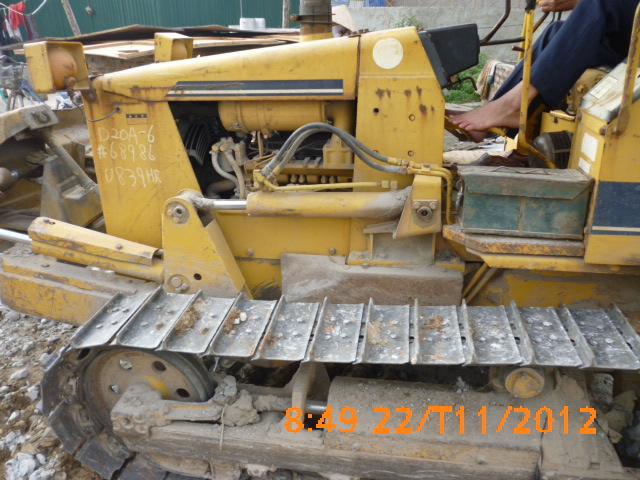 cho thuê máy ủi D20A-6 chất lượng cao