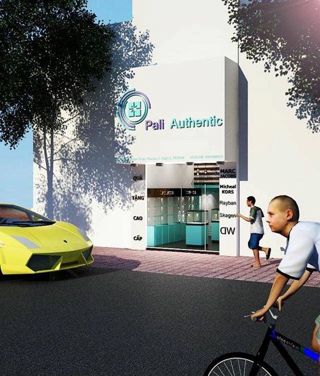 PaliAuthentic 286 Nguyễn Thiện Thuật - Showroom đồng hồ Daniel Wellington chính hãng tại TP.Hồ Chí Minh