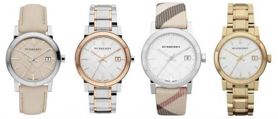 Đồng hồ Burberry thiết kế sang trọng và đẳng cấp