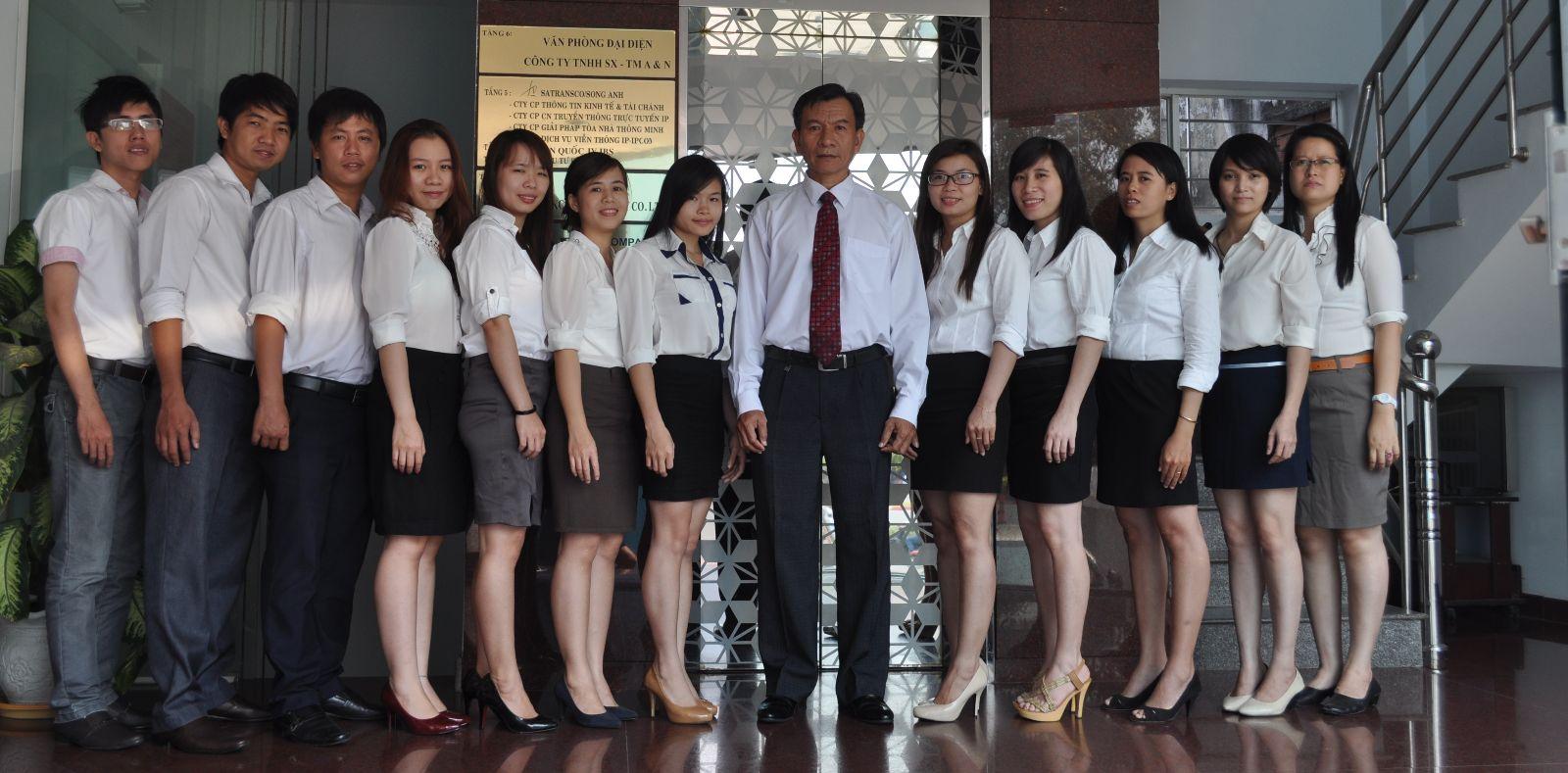 Nhân sự công ty Song Anh