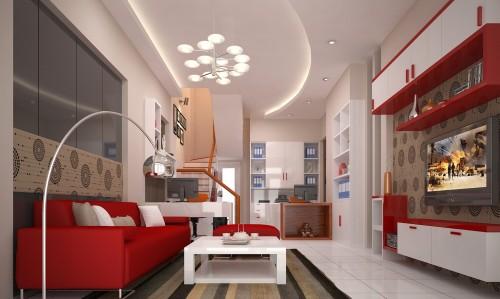 Không gian đẹp với bộ ghế sofa