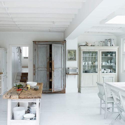 Phối màu trắng vào nội thất hợp phong thủy - 3
