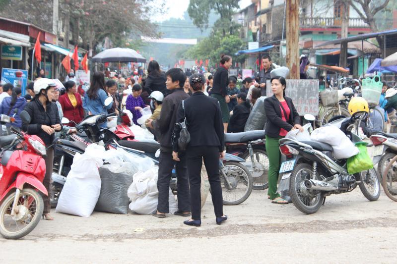 Canh chợ chè đầu xuân