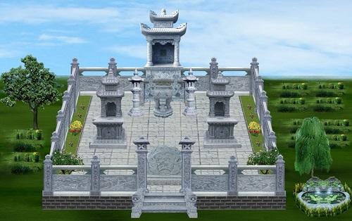 khu lăng mộ đá đẹp 15
