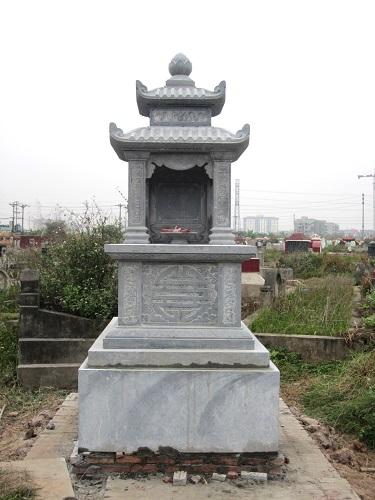 mộ đá hai mái