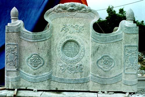 Mẫu cuốn thư đá cổ chế tác tại Ninh Bình