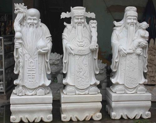 tượng Phúc Lộc Thọ 02