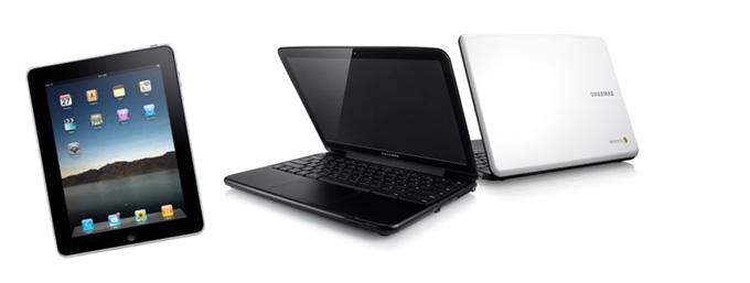 Chromebook nhận được phản hồi tốt hơn so với iPad