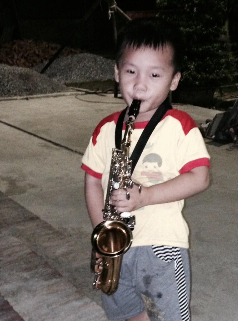 Kèn Trumpet tại Tòa Giám Mục Bùi Chu
