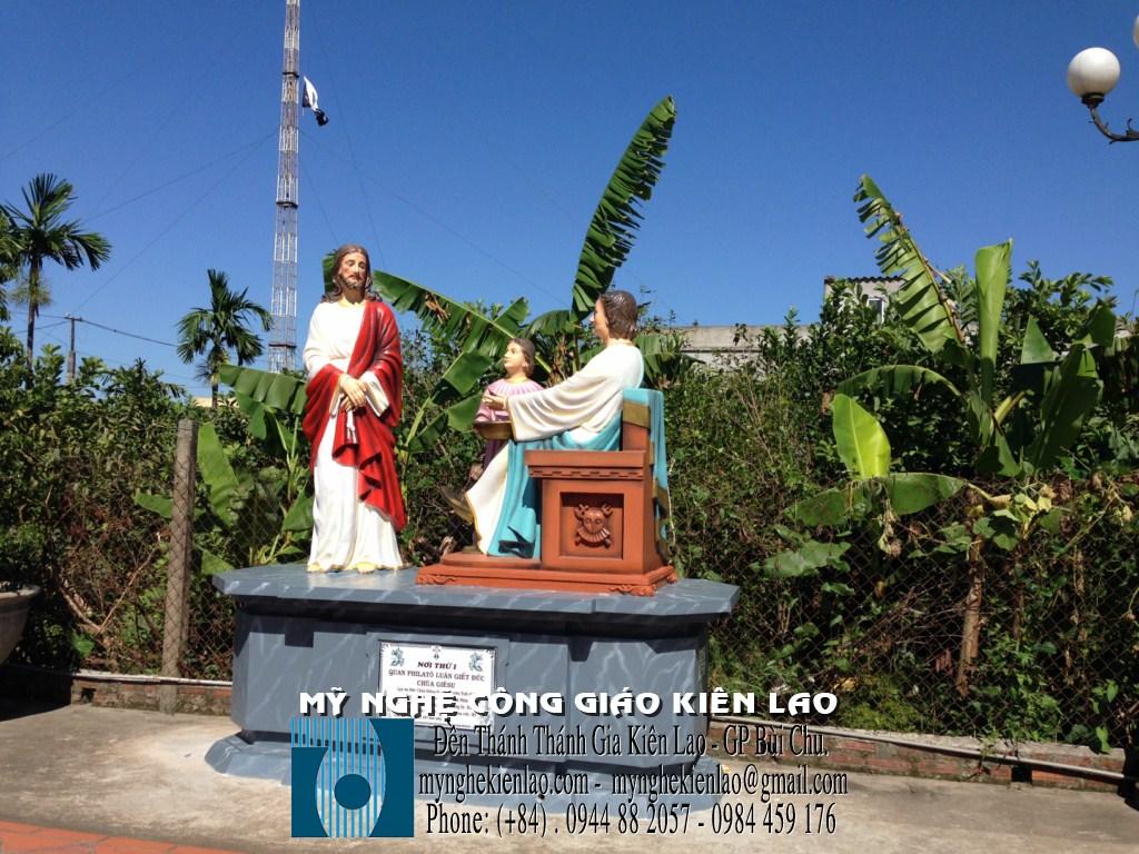 Chặng thứ nhất - Chúa Giêsu chịu xét xử