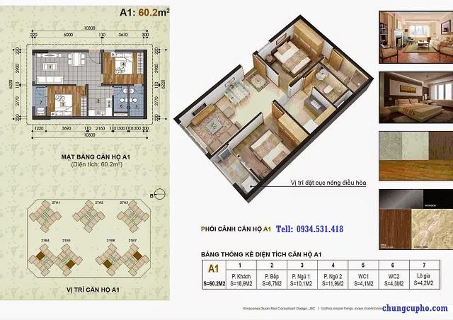 Vài hình ảnh về mặt bằng căn hộ chung cư Thành Phố Giao Lưu