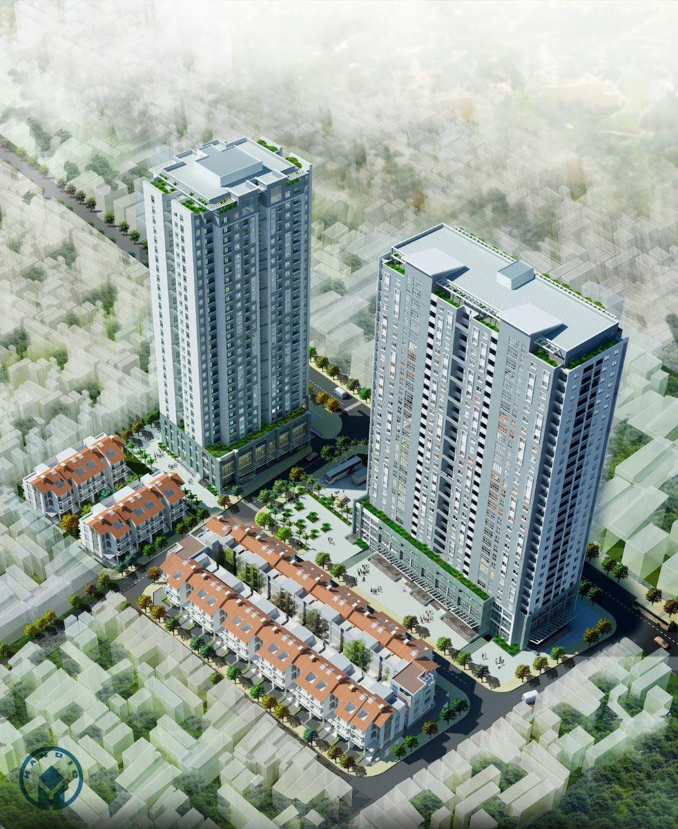 chung cư 136 Hồ Tùng Mậu
