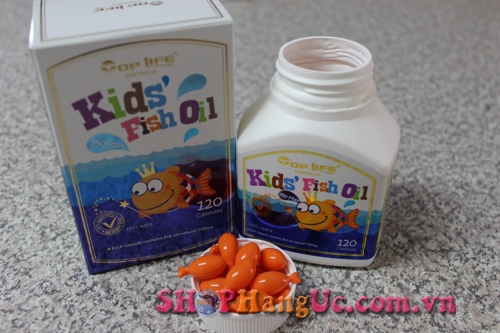 dầu cá toplife trẻ em