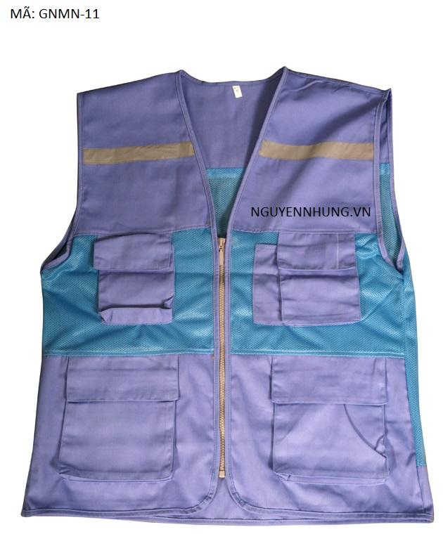áo bảo hộ lao động ghile pha lưới