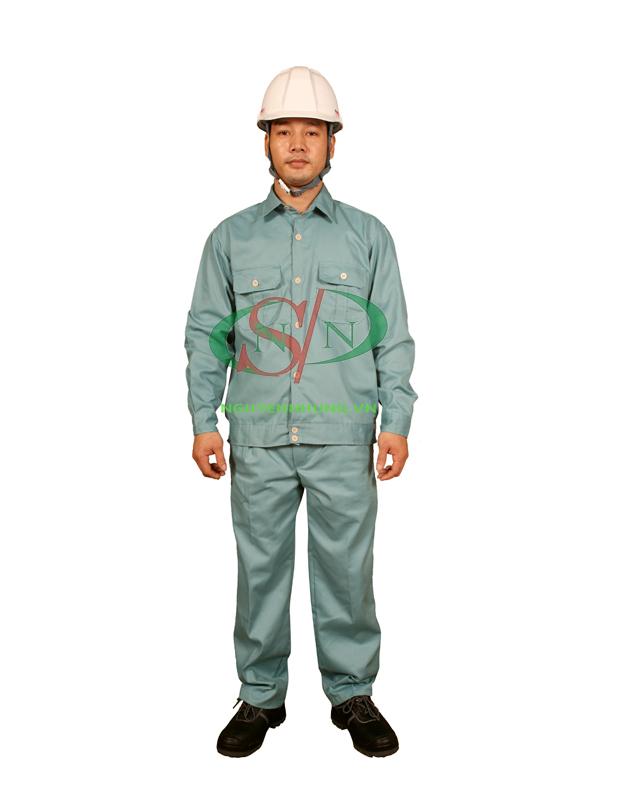 quần áo bảo hộ lao động kaki chất lượng tốt