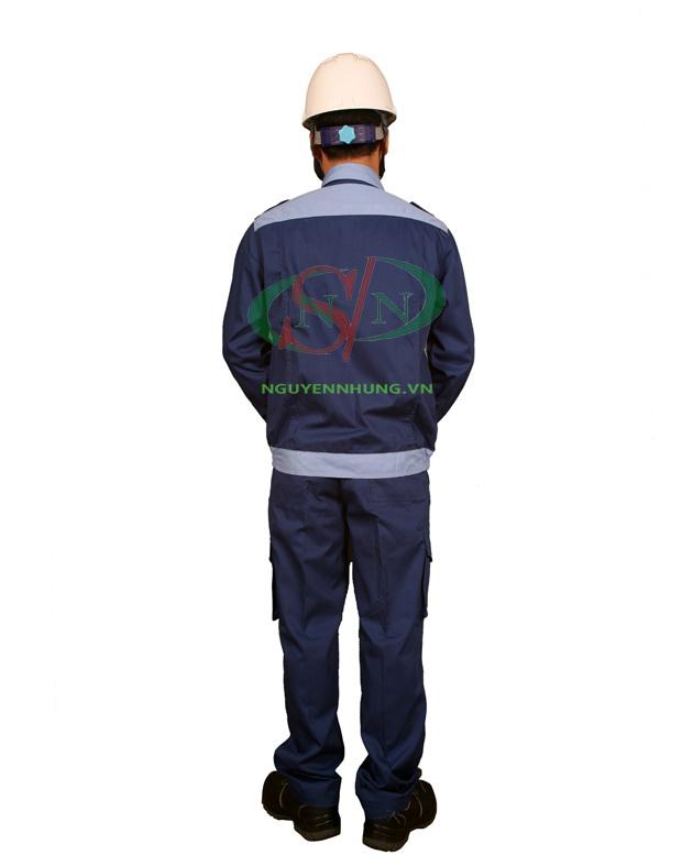 may quần áo bảo hộ lao động kaki