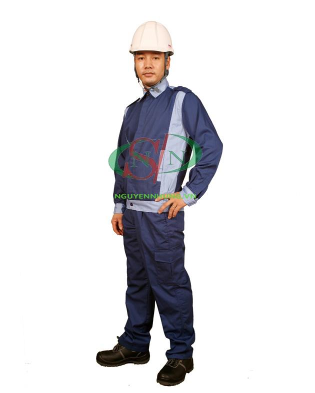 Quần áo bảo hộ lao động tối màu