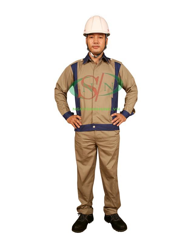 Quần áo bảo hộ lao động chất liệu kaki