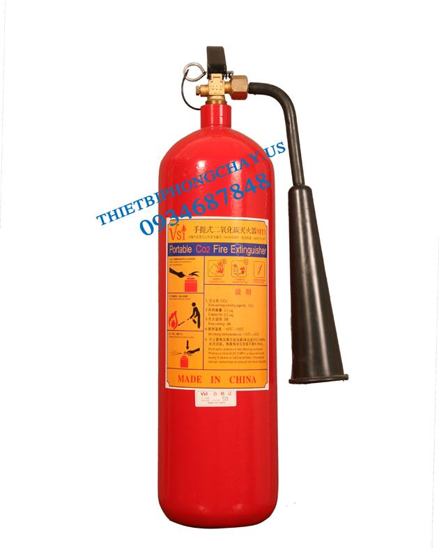 bình chữa cháy CO2 - bình khí MT3