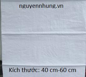 bao tải dứa đóng đất loại 40 - 60cm