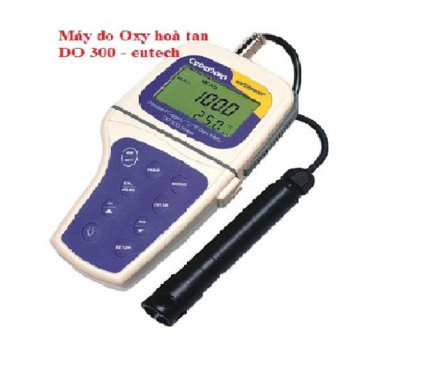 Máy đo oxi hòa tan cầm tay DO300 Eutech Singapore