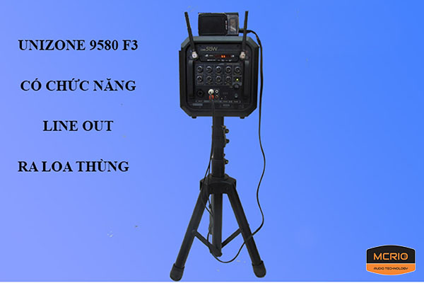 máy trợ giảng Unizone 9580F3 mcrio.vn