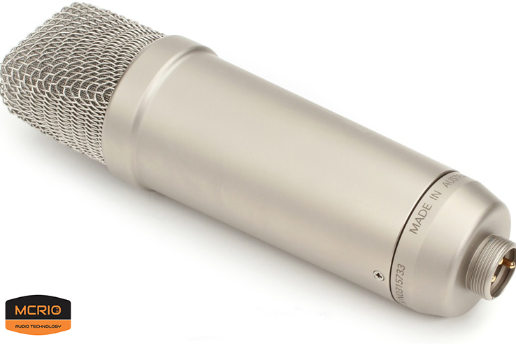 mic Consender Rode NT1A mcrio