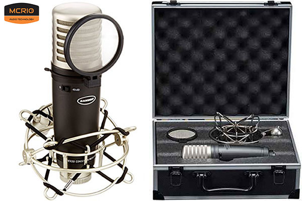 mic thu âm Samson MTR231 mcrio