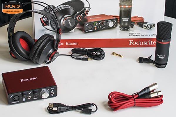 Mic thu âm Focusrite Solo Studio mcrio.vn