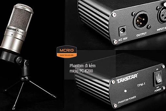 mic thu âm Takstar K200 mcrio.vn