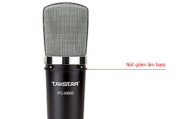mic thu âm Takstar K600 mcrio