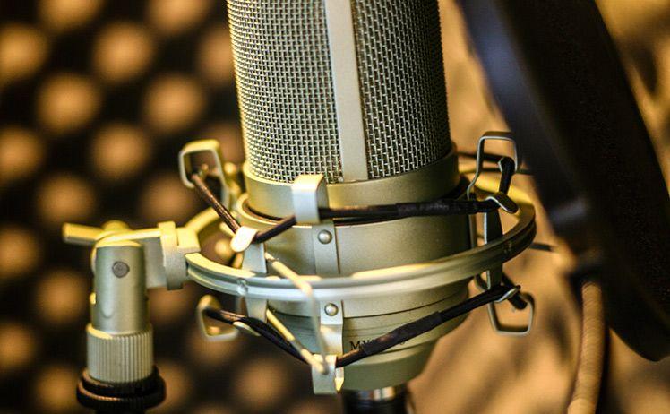 Micro thu âm, thiết bị thu âm