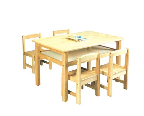 bàn ghế gỗ trẻ em