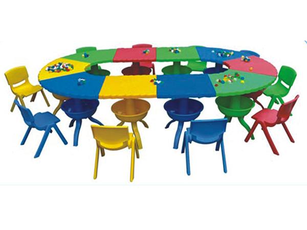 bàn ghế trẻ em lắp ghép