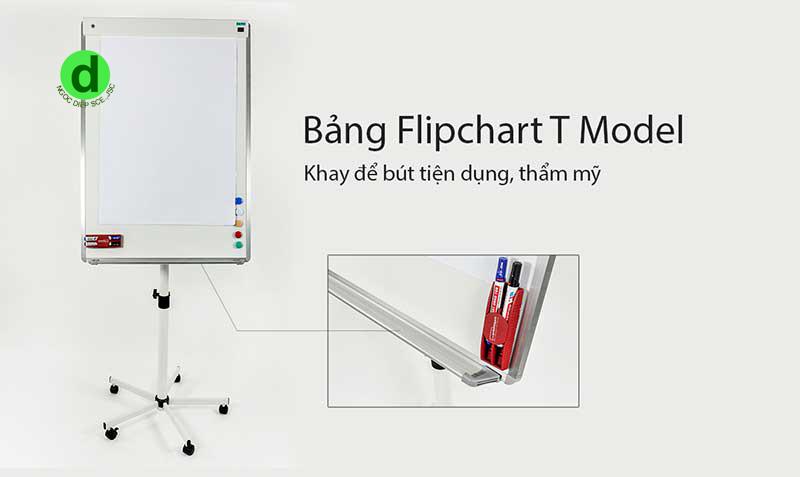 bảng flipchart chân chữ T