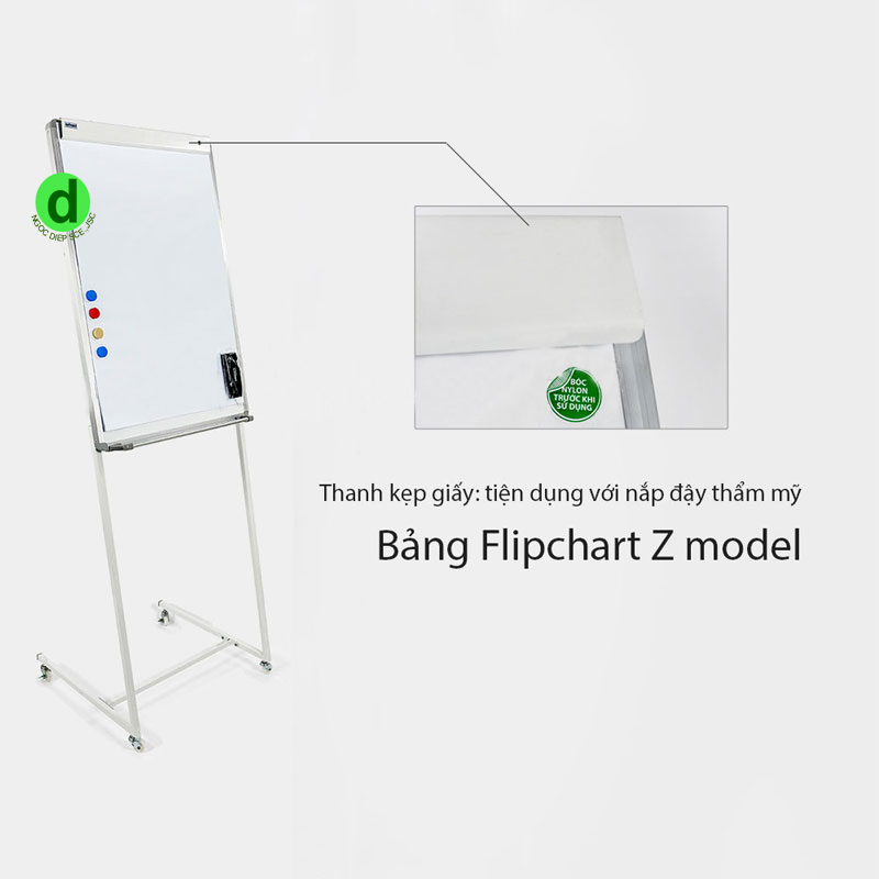 bảng flipchart chân chữ z giá rẻ