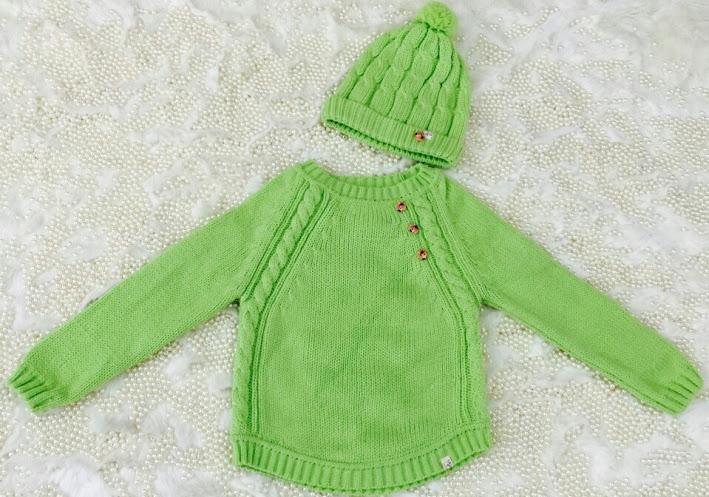 Áo len Momma Baby 2-10t kèm mũ http://kimnams.vn